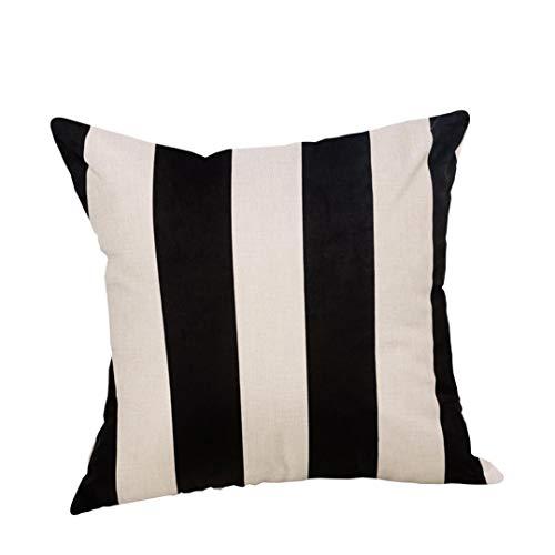 Banaa custodie per cuscini di halloween copricuscino divano in lino cuscini zucche fantasmi federa stampata federa quadrata cuscino per la casa