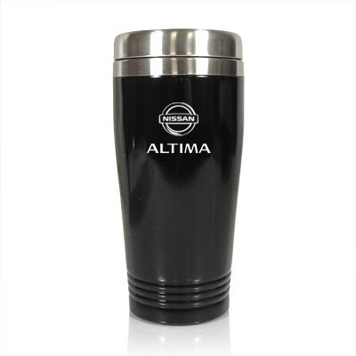Nissan Atltima Black Travel Mug by Nissan Nissan Travel Mug