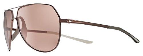 Nike Unisex-Erwachsene Outrider E Ev1086 220 62 Sonnenbrille, Gold (Walnut/Golf Flash Electri)