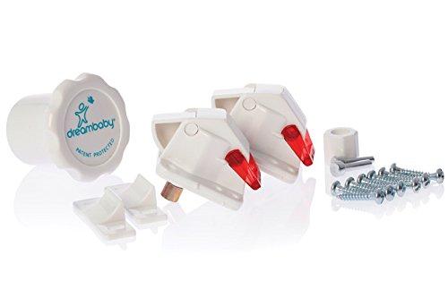 dreambaby-f151-set-serratura-magnetica-2-lucchetti-e-1-chiave-bianco