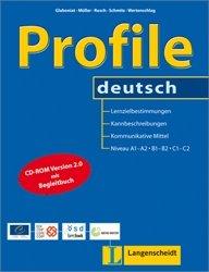 """Profile deutsch                                          - Buch mit CD-ROM: Lernzielbestimmungen, Kannbeschreibungen und kommunikative Mittel für die ... für Sprachen"""" (Teoría y práctica)"""
