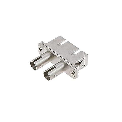 Cablematic - Coupleur fibre optique SC duplex multimode à ST