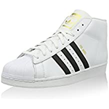 sneakers for cheap 0658b a992c adidas Superstar Pro Model Chaussures Montantes pour Homme - Blanc - Blanc,  37 1
