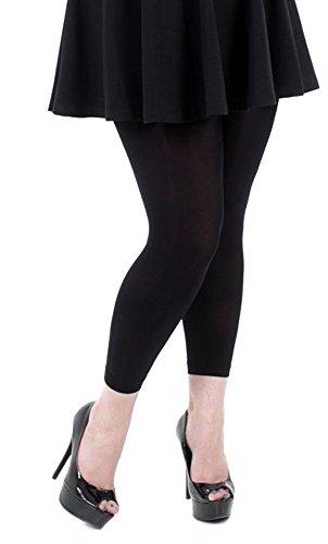 Damen Leggings Hüftleggings Hose Strumpfhose blickdicht Baumwolle Legging Strump