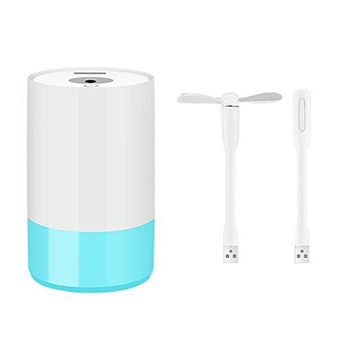 UEVOS Luftbefeuchter Ultraschall Vernebler Sicher und Einfach zu Bedienen Cool Mist & Whisper Quiet Diffusor Portable Beim Entspannen & Genießen (320ML) - Whisper Cool