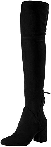 Frauen Aldo-stiefel (ALDO Damen ADESSI Stiefel, Schwarz (Black), 40 EU)