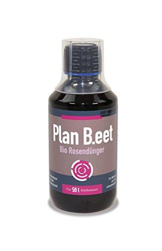 Plan B. EET Bio Engrais pour Roses, Marron, 5,5 x 5,5 x 14 cm