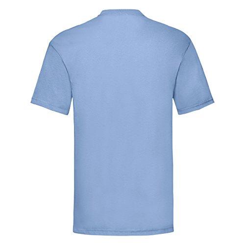 Reality Glitch Herren T-Shirt Kawaii On The Streets, Senpai in The Sheets Himmelblau