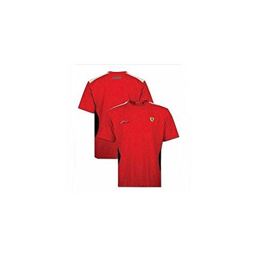 FERRARI Camiseta niño Fernando Alonso Rojo Talla 14 años