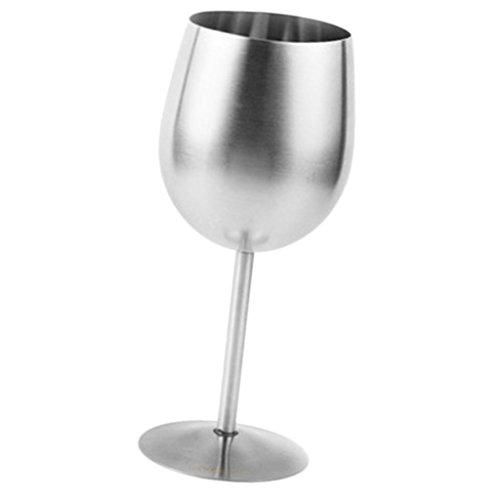 MagiDeal Verre à Vin Gobelet En Acier Inoxydable Tasse Bière Mug Cuisine Maison Noël Cadeau 300ml
