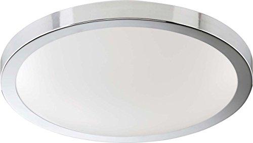 Briloner LED--Deckenleuchte 3247-358 chrom-weiß Decken-/Wandleuchte 4002707280507