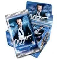 James Bond 007 Spy Cards COMMANDER - 32 pack Sealed Booster Box