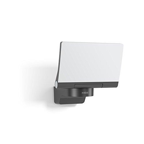 Steinel LED-Strahler XLED Home 2 Slave graphit, 14.8 W Flutlicht, voll schwenkbar, 1184 lm, für Einfahrt, Hof und Garten