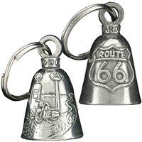 Guardian Bell - Llavero con amuleto de campana con diseño de campana