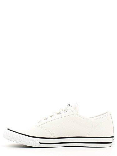 Scarpe uomo EA7 EMPORIO ARMANI, sneaker canvas blu art. 288030 6P299 White
