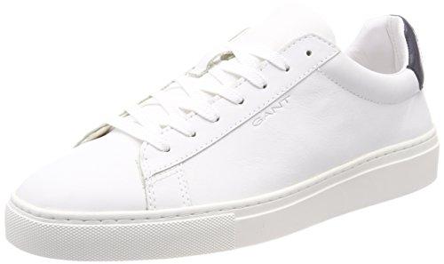 Gant Major, Sneaker Uomo Weiß (Br.Wht./Marine)