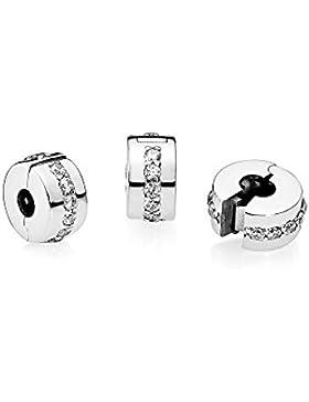 Pandora Damen-Charm 925 Silber Zirkonia weiß - 791972CZ