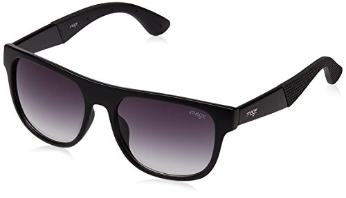 Image Wayfarer Sunglasses (Black) (S432-C1) Size 54  available at amazon for Rs.1187