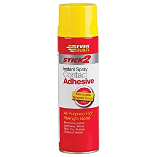 Everbuild CONSPRAY5 Stick 2 Spray Contact Adhesive 500 ml