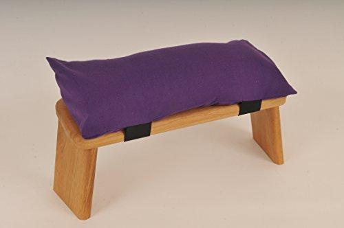Cuscino per sgabello da meditazione viola
