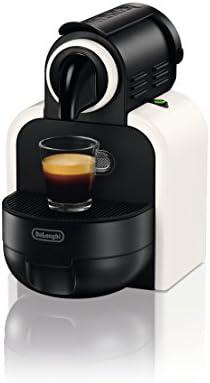 DeLonghi Essenza EN97 W - Cafetera monodosis Nespresso (19 bares, automática, programable, modo ahorro energía), color blanco