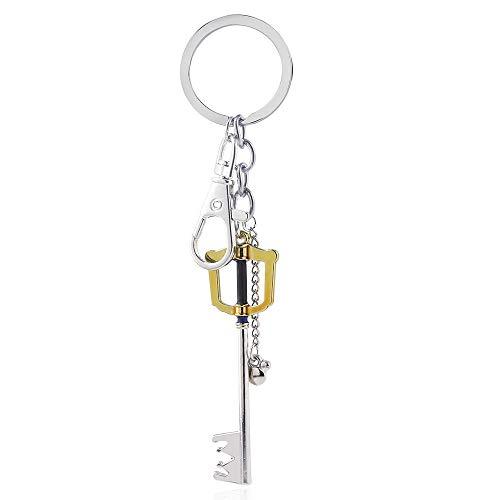 DADATU Schlüsselanhänger Spiel Kingdom Hearts Gold Schlüsselanhänger Oblivion Klinge Charms Schlüsselanhänger Schlüsselanhänger -