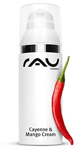 Gesichtscreme mit Chilli - RAU Cayenne & Mango Cream 50 ml - hocheffektive Anti-Aging-Pflege