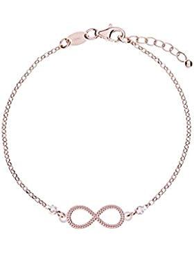 Remi Bijou - 925 Sterling Silber - Wunderschöne romantische Armkette Armband - Infinity Unendlichkeit Ewige Liebe