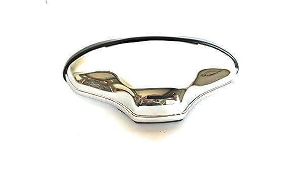 PovKeever 12V rotes Eisenes Multiplikationssymbol Form Chrom Bremsr/ücklicht LED mit Kennzeichenbeleuchtung
