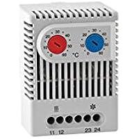 Schaltschrank Thermostat 2-fach warm kalt 0-60°C Verteilerschrank Filterlüfter