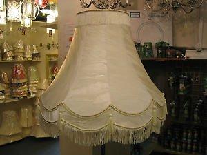 CT Lighting 25.40 cm, Iceberg Cremefarben/Elfenbeinfarben, Lampenschirm für Tischlampe