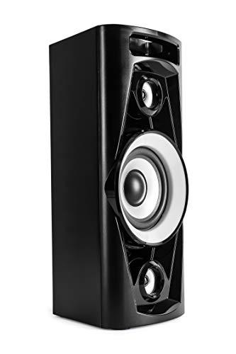 Reflexion PS07BT Mobile Discosoundmaschine (inkl. Bluetooth, Radio, 2x USB, AUX-IN, Karaokefunktion und Akku) schwarz - 6