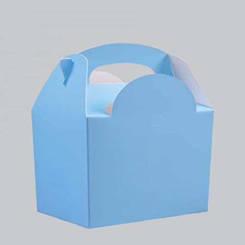 Party-Tischgeschirr für Babys, Hellblau, 1 Stück 10 Party Food Boxes