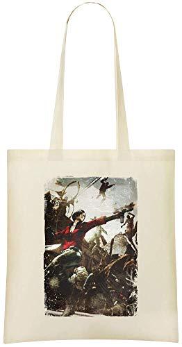 Yummy Apparel Resident Evil 6 Ada Wong Custom Printed Shopping Grocery Tote Bag 100% Soft Cotton Eco-Friendly & Stylish Handbag For Everyday Use Custom Shoulder Bags -