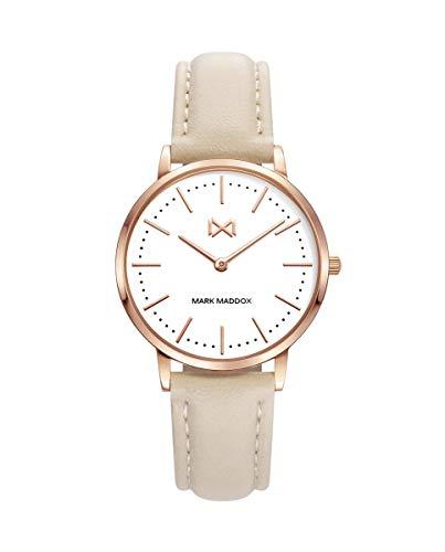 Mark Maddox Greenwich Reloj de Mujer en Piel MC7109-07