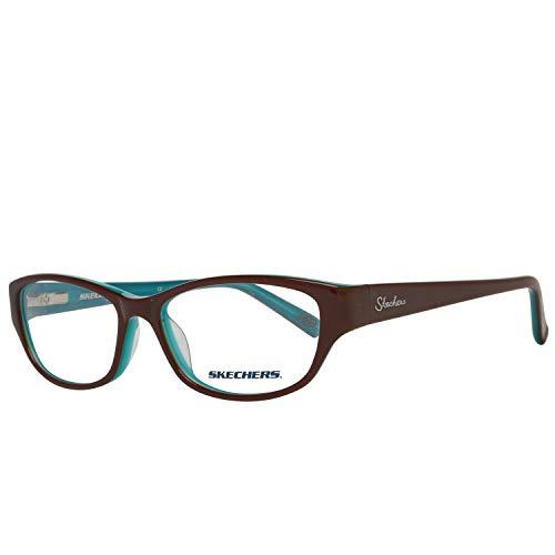 Preisvergleich Produktbild SKECHERS Brillengestell SK 2082 Braun / Blau 52MM