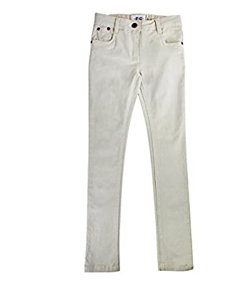 Girls French Connection Cream Jeans