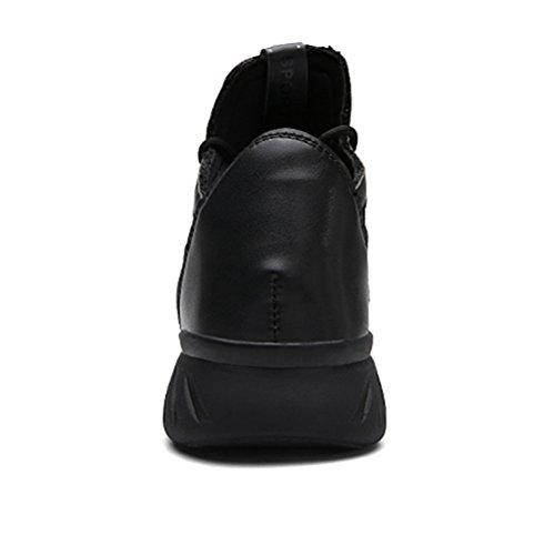 XIANV Sommer Herren Sneaker Mode Casual Schuhe Soft Breathable Mesh Frühjahr Lace-Up 2017 Männer Schuhe Bequeme Schuhe Männer Schwarz