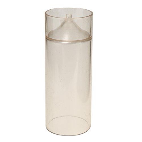 FITYLE Clair église Spire Cylindre Bougie Moule Savon Moule Bricolage Bougie Faisant L'artisanat - 60x155mm