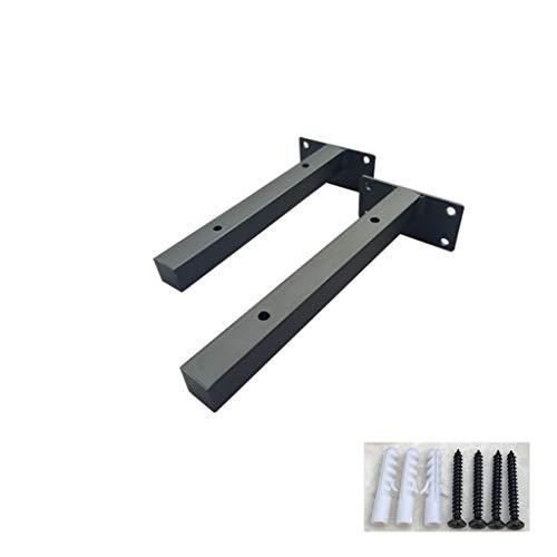 Soportes de estantería Industrial para decoración de tubería rústica de 2 Piezas...