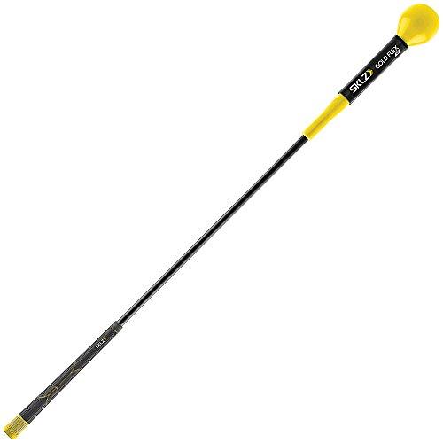 SKLZ - Gold Flex 40 - Aide d'exercice de force et de rythme pour golf - Jaune/Noir - 40'