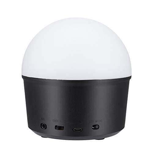 Licht, Chshe, Disco Ball Party Lichter Mit Fernbedienung, 9 Bunte Disco Lichter Dj Lichter Led, Bluetooth Lautsprecher Party Licht (Schwarz) ()