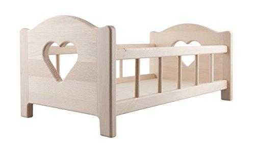Puppen Holzbett - Kirsche Holz Bett