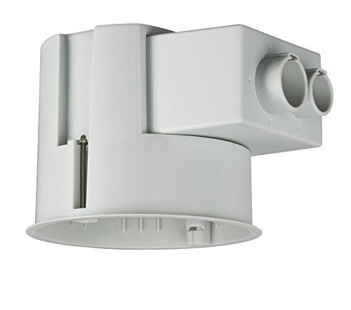Paulmann 250 Einbaugehäuse für Hohldecken Ø bis 90mm Einbautiefe 110mm max. 35W Grau 250 Spot Einbaustrahler Einbauleuchte