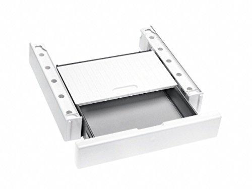 Miele WTV511 Trocknerzubehör / Wasch-Trocken-Verbindungssatz für sichere und platzsparende Aufstellung einer Wasch-Trocken-Säule, lotosweiß