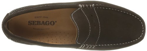 Sebago Trenton Penny, Mocassins homme Marron (Dark Brown Suede)