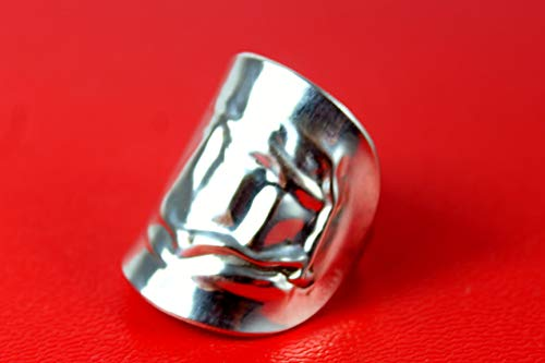 Ring 800 Silber Besteck Schmuck Ring, ca.62 (19,8)
