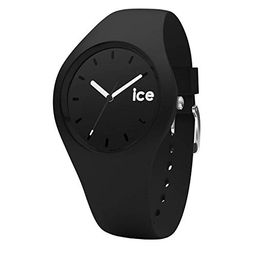 Ice-Watch - Ice Ola Black - Schwarze Damenuhr mit Silikonarmband - 000991 (Small)
