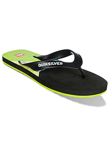 Klapki Quiksilver Maldive Pulse EQYL100013-XKKG Black/Black/Green