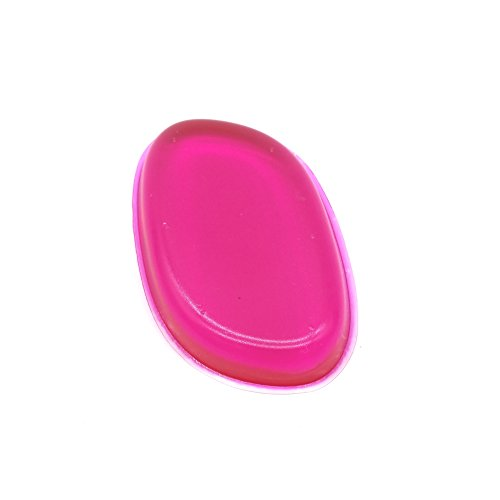 Coque en silicone Maquillage blender éponge de visage - Ensemble pour une application zéro défaut du liquide Primer Fond de teint crème Contour ou Concealer. Houppette Brosse de remplacement avec zéro le Gaspillage de maquillage